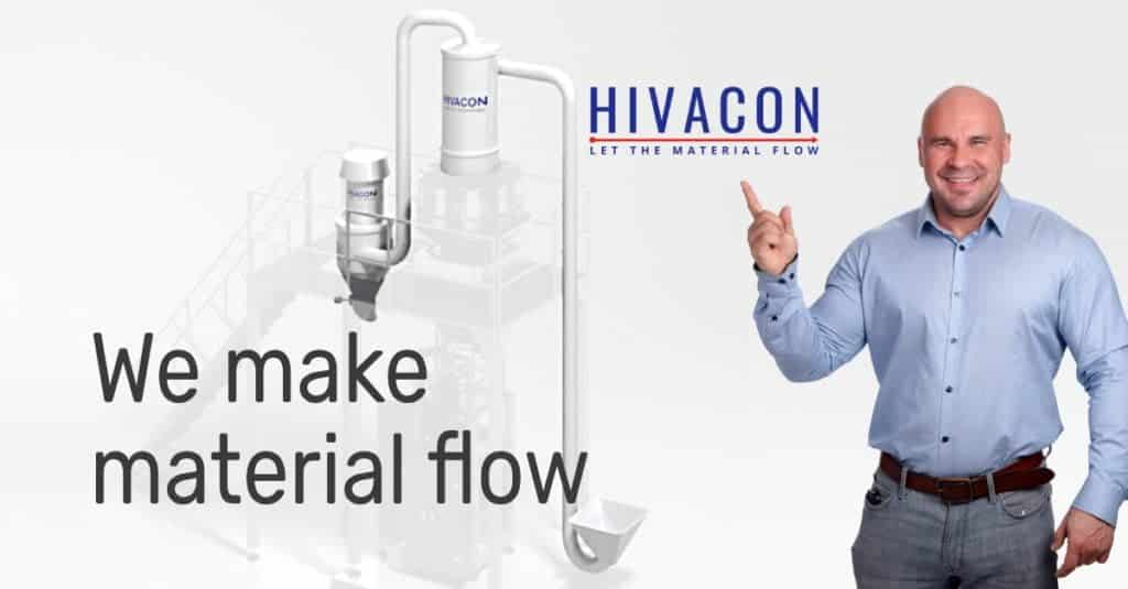 Hivacon Systems Oy | Vacuum conveying systems for food industry